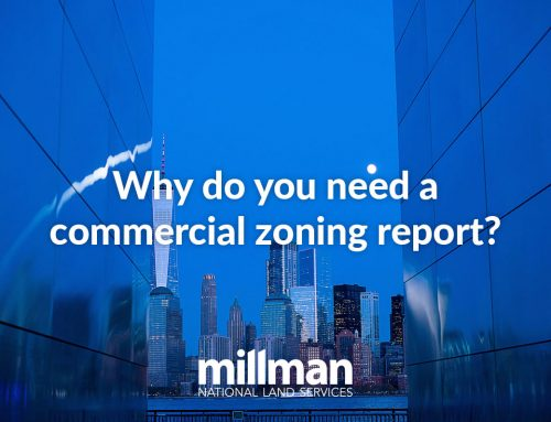 Why do you need a commercial zoning report?