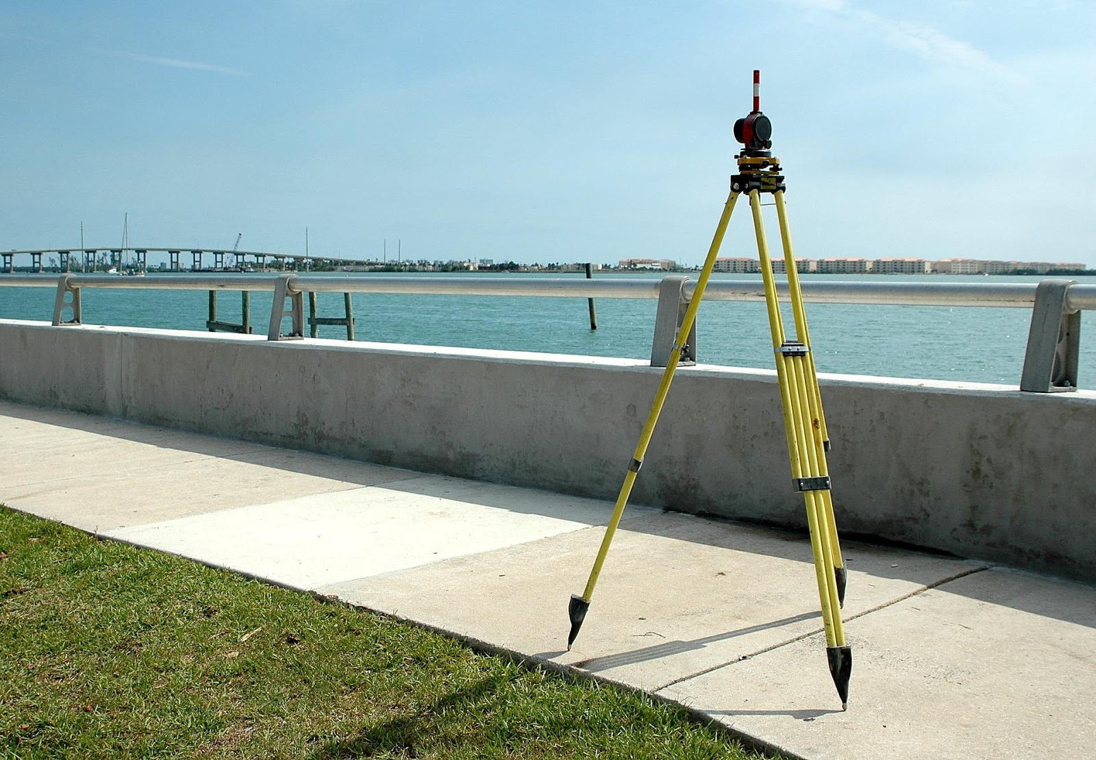 Equipment used for land surveying